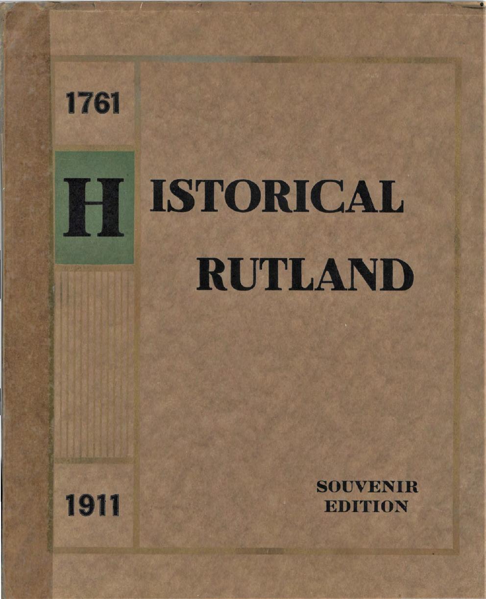 Historial Rutland 1761-19111
