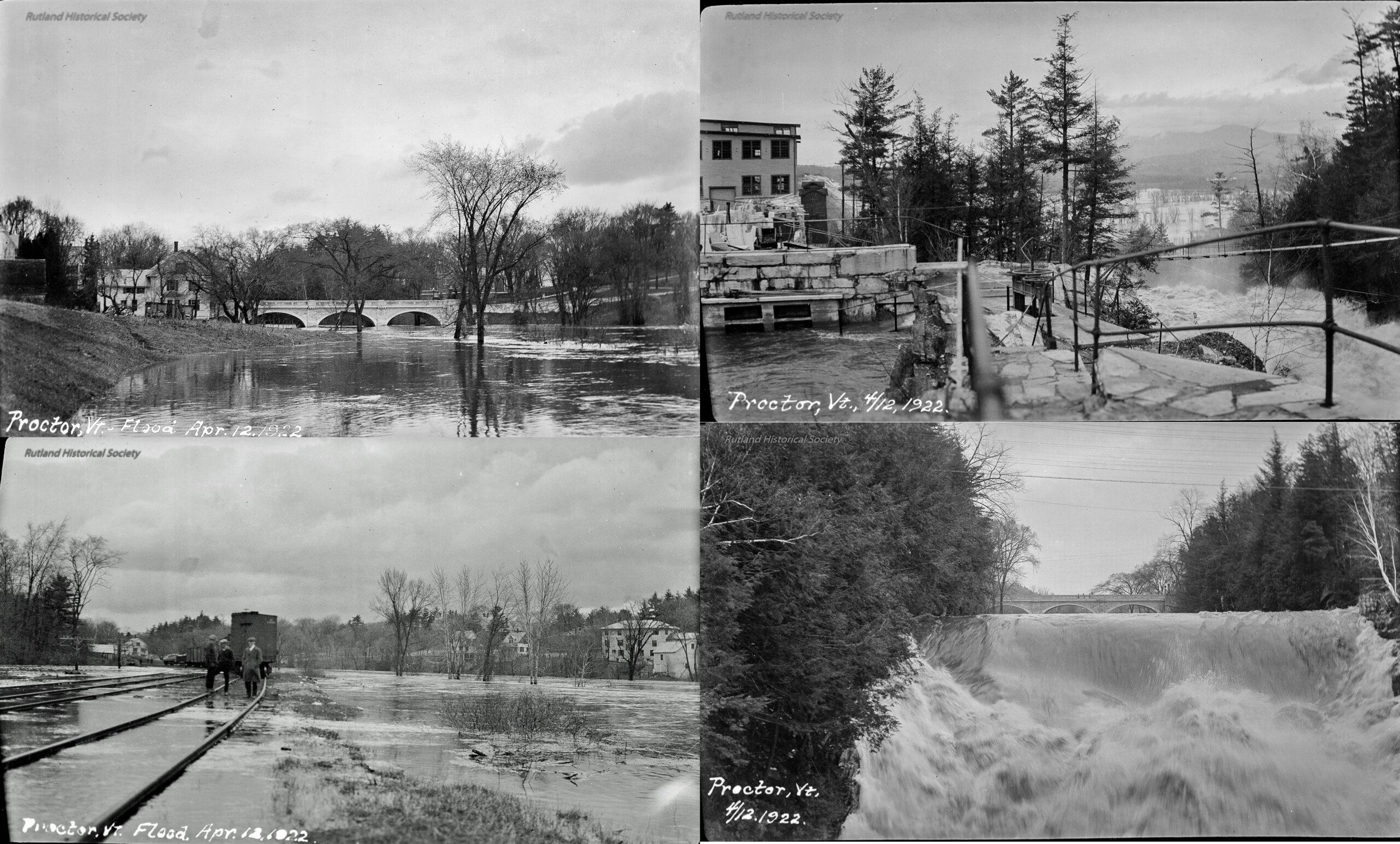 Proctor Flood April 12 1922