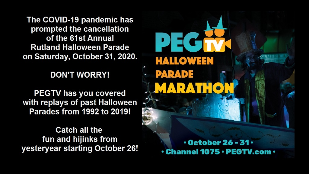 PEGTV Halloween Parade Marathonxx