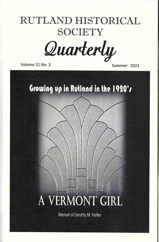 RHSQ Vol.51, No.2 2021 (Cover)